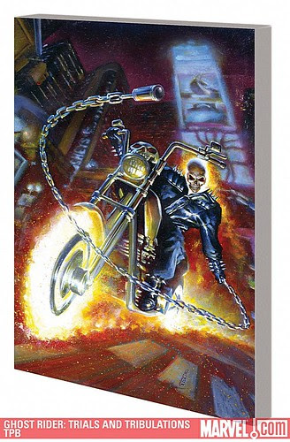 GHOST RIDER: TRIALS AND TRIBULATIONS trade paperback