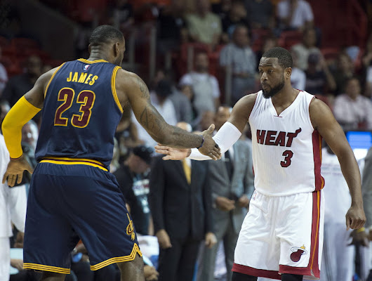 Report: Wade not on great terms with Heat, could reunite with LeBron