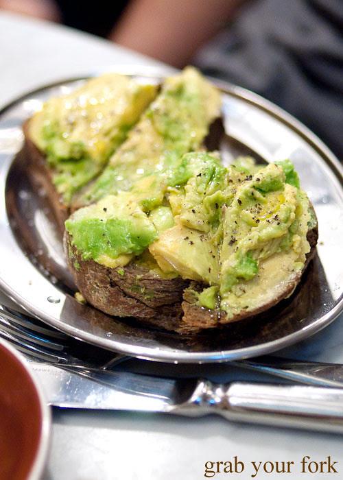 avocado sourdough toast circa espresso cafe parramatta