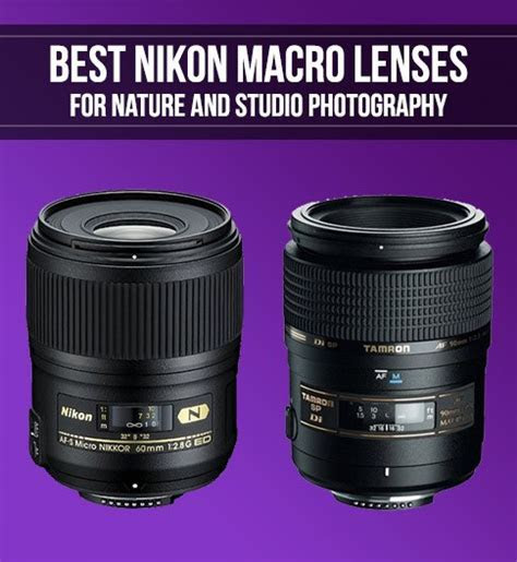 Best Nikon Lenses for Macro Photography   Smashing Camera