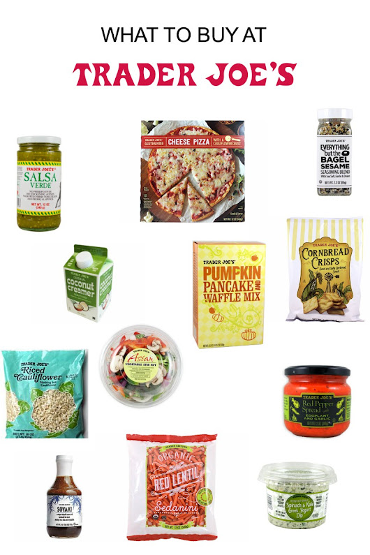 What To Buy At Trader Joes | Lows to Luxe
