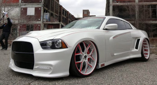 Dodge Charger Custom Two Door Coupe by Fantasy Collision