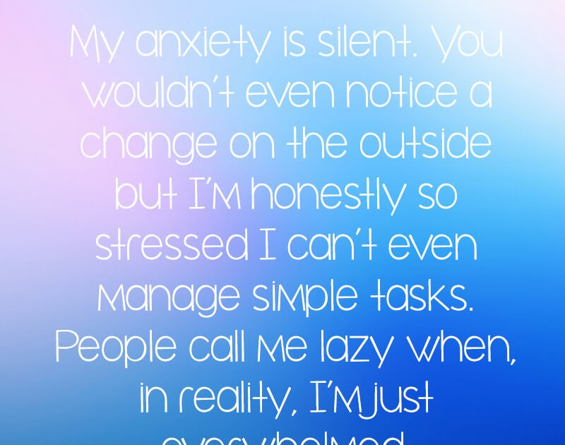 12++ Inspirational Quotes For Anxiety Sufferers - Richi Quote