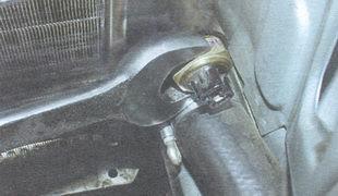 статья про замена датчика включения вентилятора радиатора ВАЗ 2106