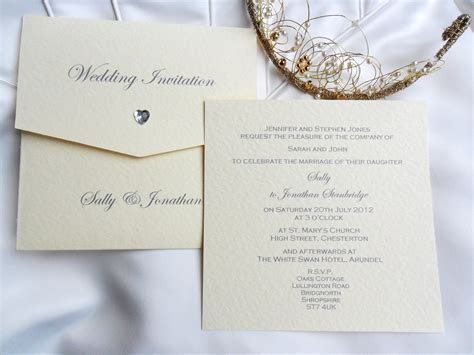 Wallet Wedding Invitations £2, UK Printing Company
