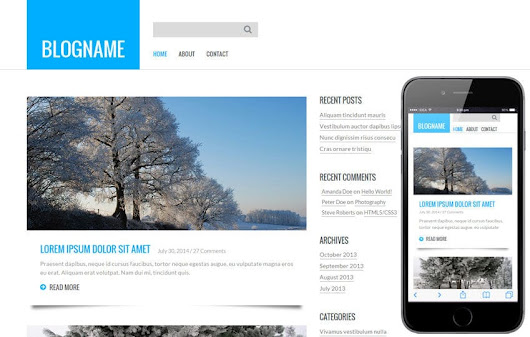 Personal Blog a Blogging Category Flat Bootstrap Responsive Web Template by w3layouts