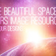 4 Free Beautiful Space & Stars Image Resources