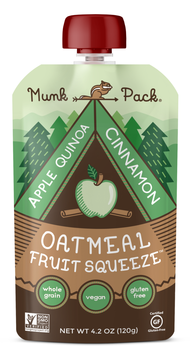 apple quinoa cinnamon oatmeal fruit squeeze