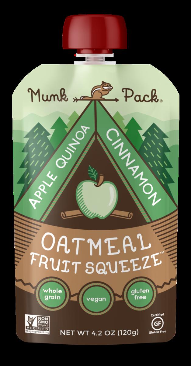 apple quinoa cinnamon oatmeal fruit squeeze