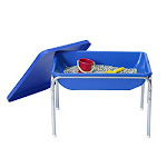 Childrens Factory Small Sensory Table & Lid Set Classroom Furniture (1132)