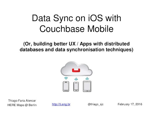 Data sync on iOS with Couchbase Mobile