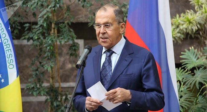 Lavrov não acredita que Bolsonaro reconsidere sua posição em favor da manutenção dos BRICS