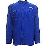 Columbia Sportswear Men's PFG Low Drag Offshore Longsleeve Shirt, Medium Blue