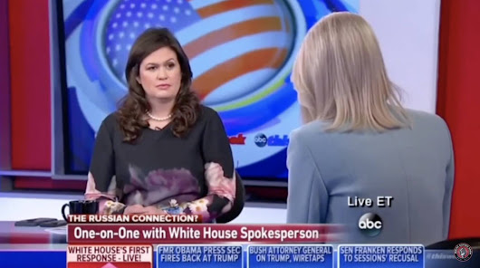 WH Deputy Press Sec Sarah Huckabee Just Gave Liberal Raddatz A Home Loss On Her Own Show! ⋆ WayneDupree.com