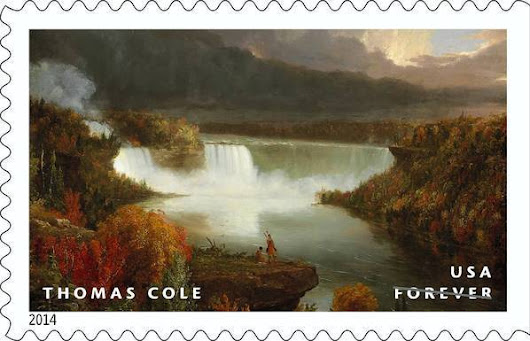 Art Institute painting gets postage stamp treatment