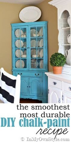 Painted Hutch on Pinterest