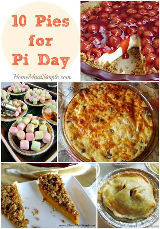 10 Pies for Pi Day | Home Maid Simple
