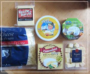 これが届いたチーズ福袋の中身