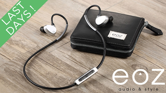 EOZ One - The Most Stylish Bluetooth Earphones. Ever.