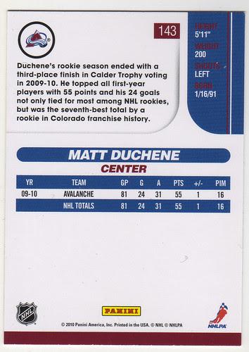 Score - Matt Duchene back