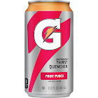 Gatorade Thirst Quencher Can, Fruit Punch - 24 pack, 11.06 oz each