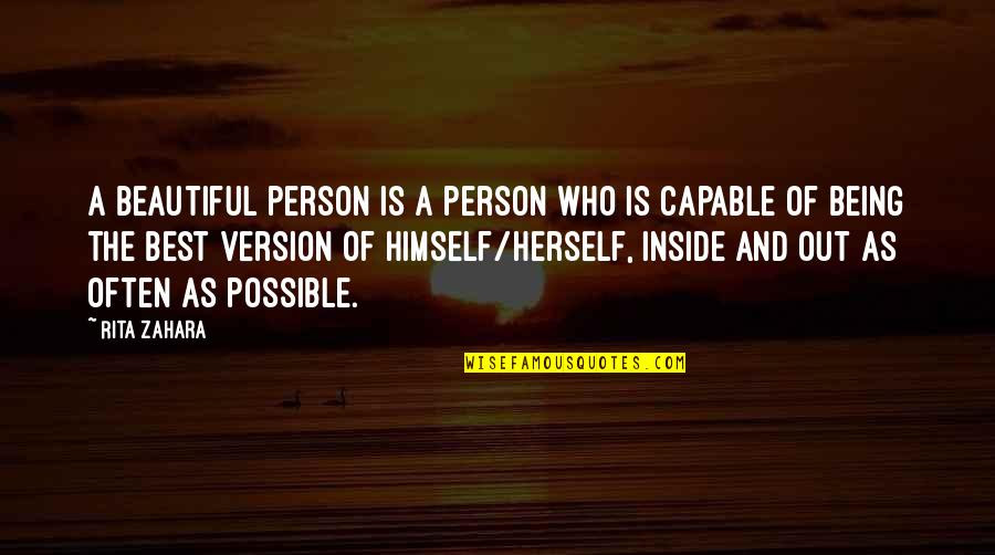 Being A Beautiful Person Inside And Out Quotes Top 2 Famous Quotes