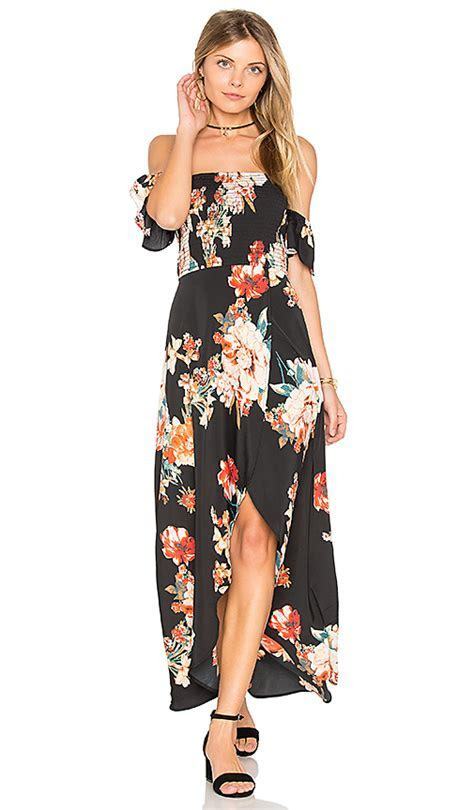 Floral Print Maxi Dresses For Summer Wedding Guest Season
