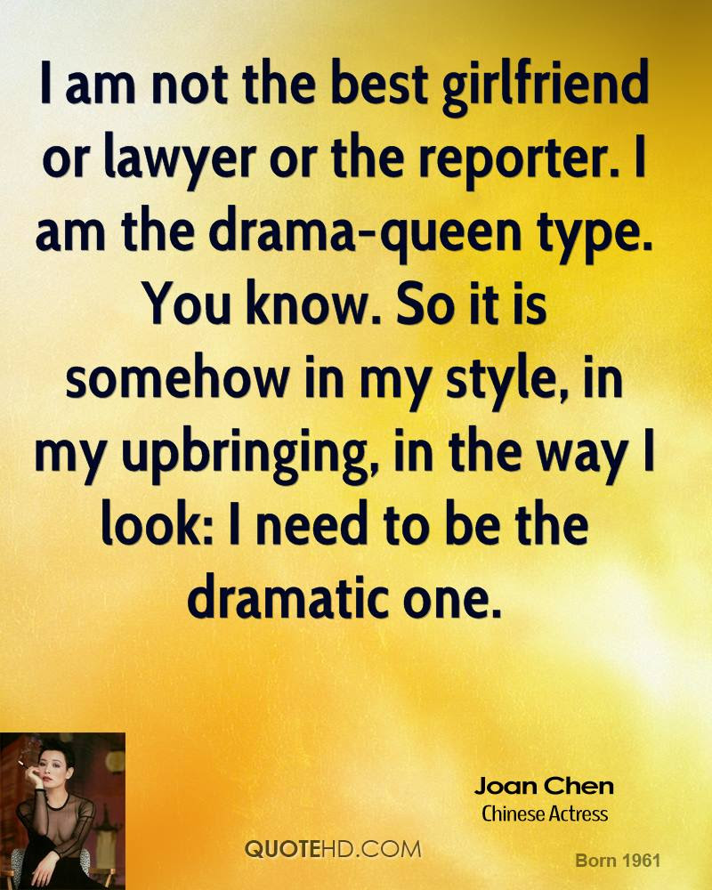 Joan Chen Quotes Quotehd