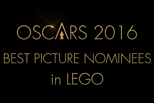 Oscar 2016 Best Picture Nominees in LEGO