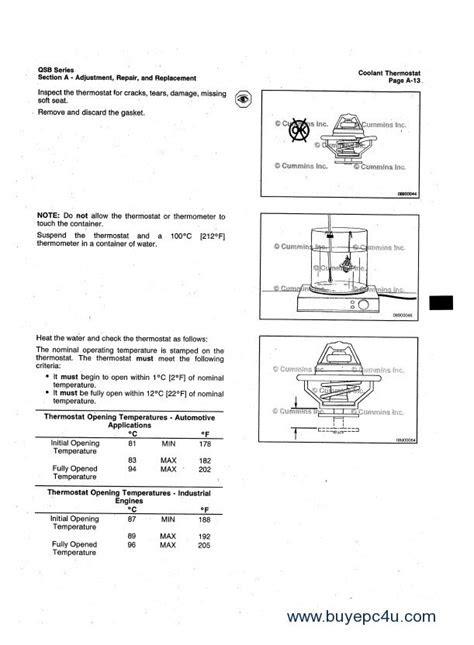 Cummins QSB4.5 QSB6.7 Engine Operation Maintenance PDF