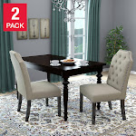 Michelle Dining Chair, 2-pack, Tan