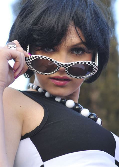 60's Style Glasses [6863B]   Struts Party Superstore
