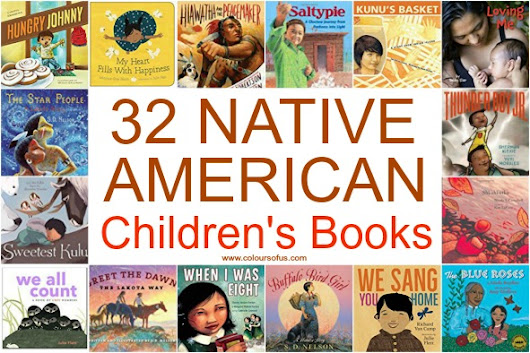 32 Native American Children's Books | Colours of Us