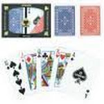 Copag Red/Blue Wide Pinochle Set Regular Index