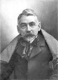 Mallarméphotographié par Nadar en 1896.