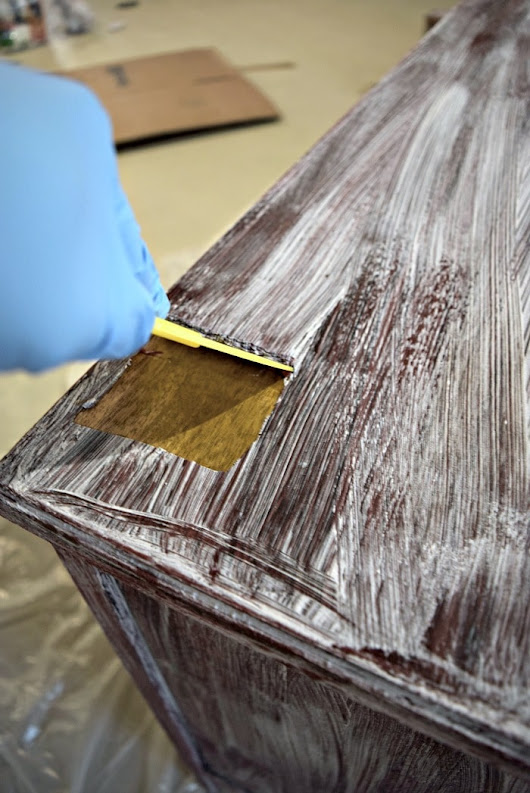 How to Easily Remove Paint & Varnish from Old Furniture! - Our Home Made Easy