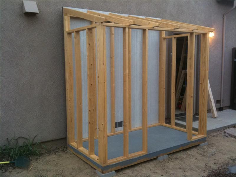 shed plans 4 x 8 6