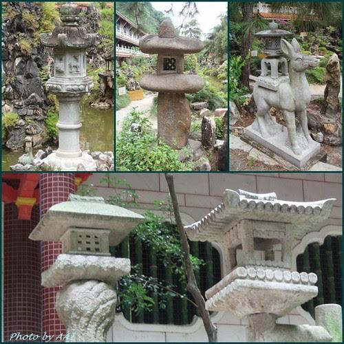 Stone Lanterns @ Sam Poh TOng