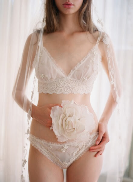 Wedding Week: Claire Pettibone's 'Heirloom' Bridal Lingerie Collection | The Lingerie Addict | Lingerie For Who You Are