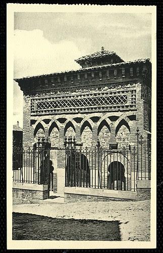 Mezquita del Cristo de la Luz (Toledo), a principios de siglo. Foto años 20 Hauser y Menet