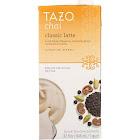 Tazo Chai Concentrate Classic Latte Black Tea - 32 fl oz carton