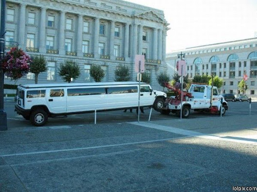 Limo Towing | Funny Pictures 607 Pic# 9