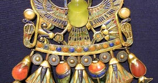 Gemstone Found In King Tut's Tomb Formed When A Celestial Body Collided With Earth