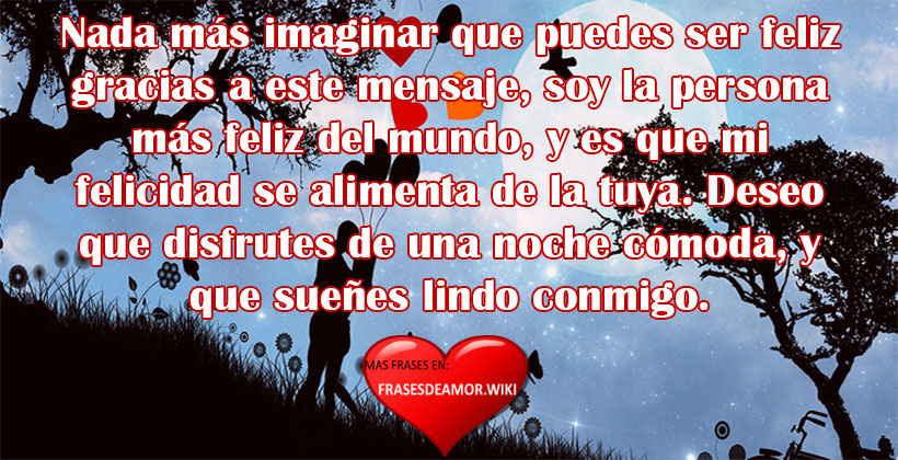 Frases Y Mensajes De Buenas Noches De Amor Frasesdeamor Wiki