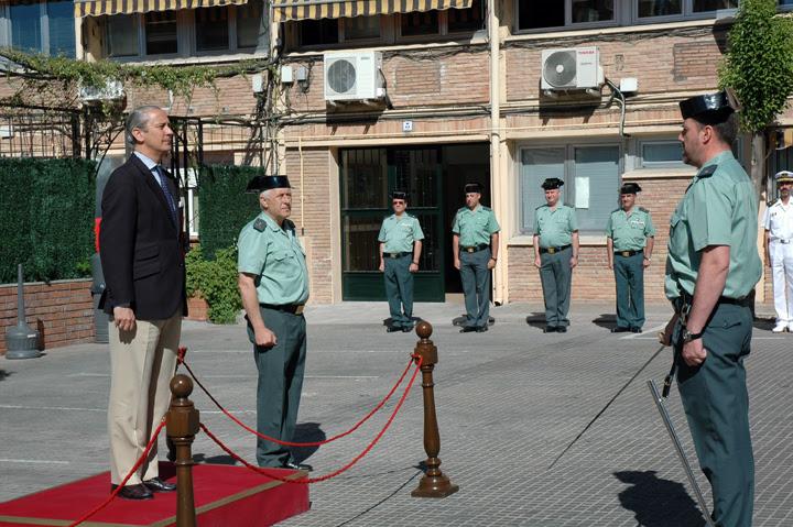 El Director General de la Guardia Civil se reúne con los responsables de las Unidades de la Zona de la Guardia Civil en Castilla la Mancha