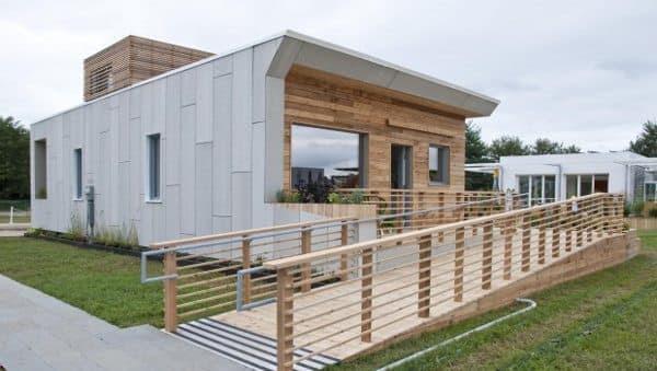 Casas de madera prefabricadas casas de madera modernas for Casas de madera baratas