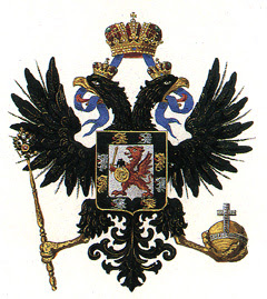 heraldique de la sainte famille imperiale de Russie, les Romanov