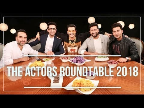The Actors Roundtable 2018 With Rajeev Masand | CNN News18 Exclusive