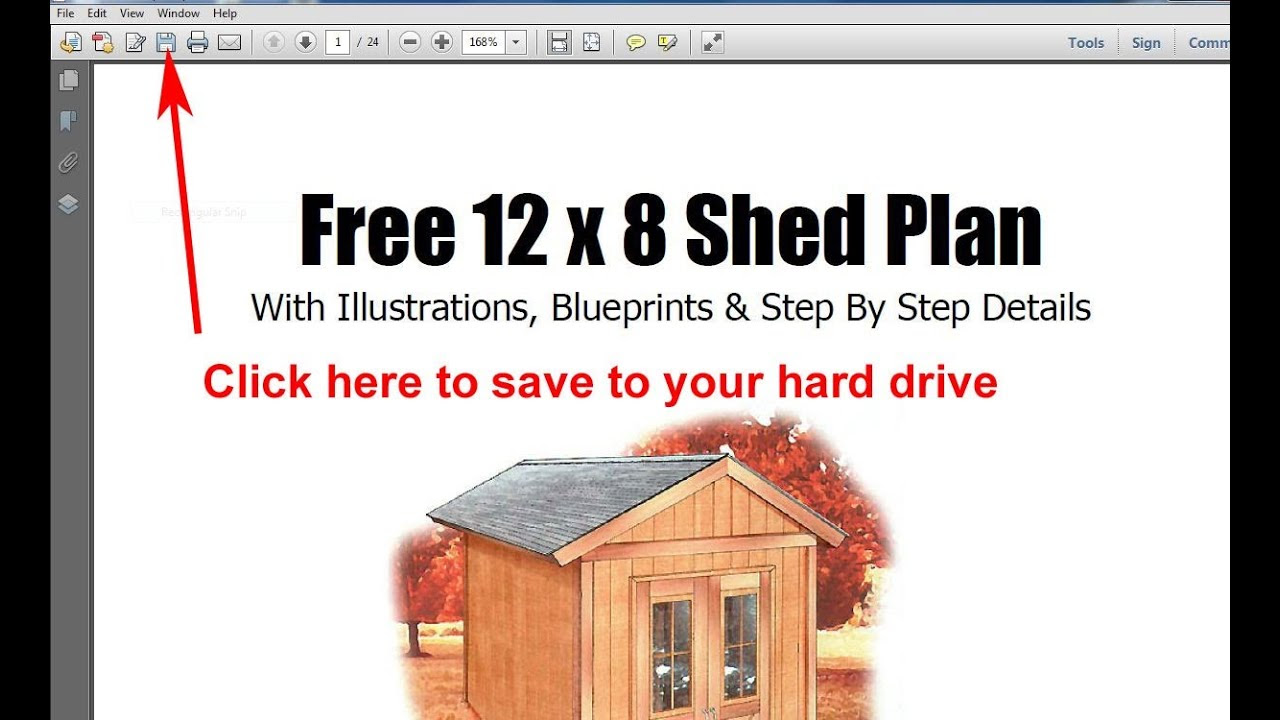 Learn Free Storage Shed Plans 8x12 Sharing Seksi