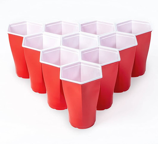 Hexagon Beer Pong Cups | Awesome Stuff to Buy
